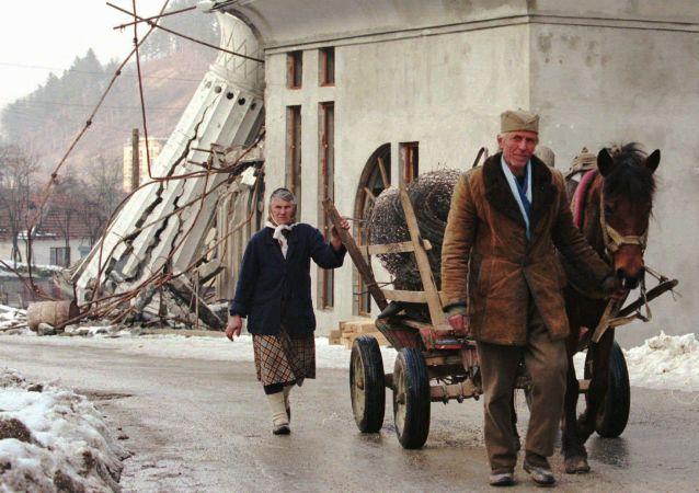 Bosenští Srbové v Srebrenici