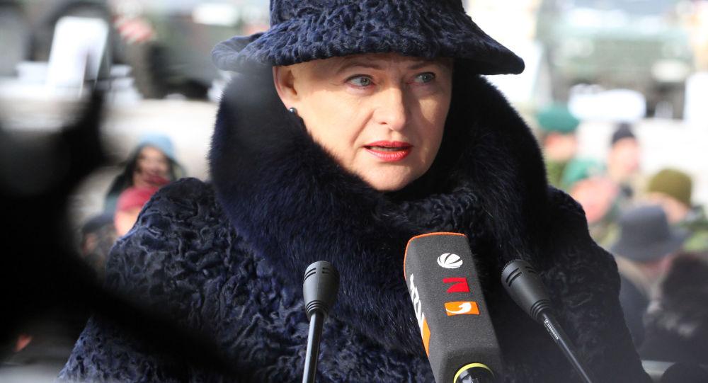 Litevská prezidentka Dalia Grybauskaitéová
