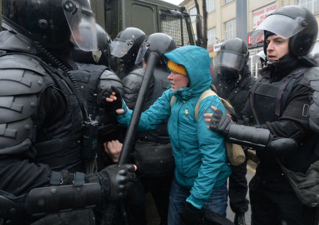 Mítink v Moskvě