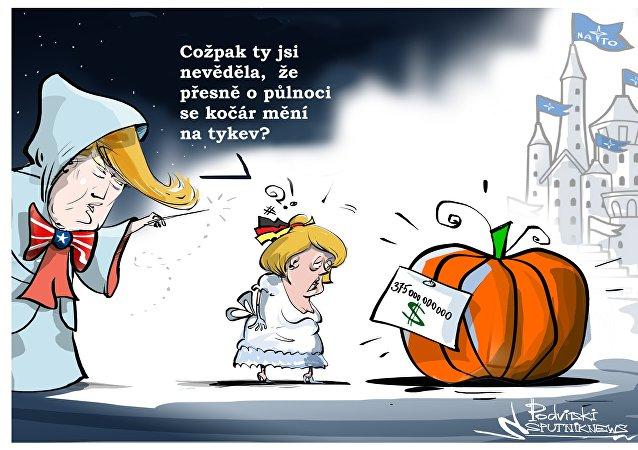 Tři oříšky pro Merkelovou