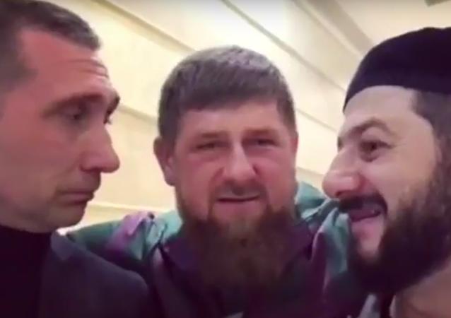 Kadyrov a humoristé