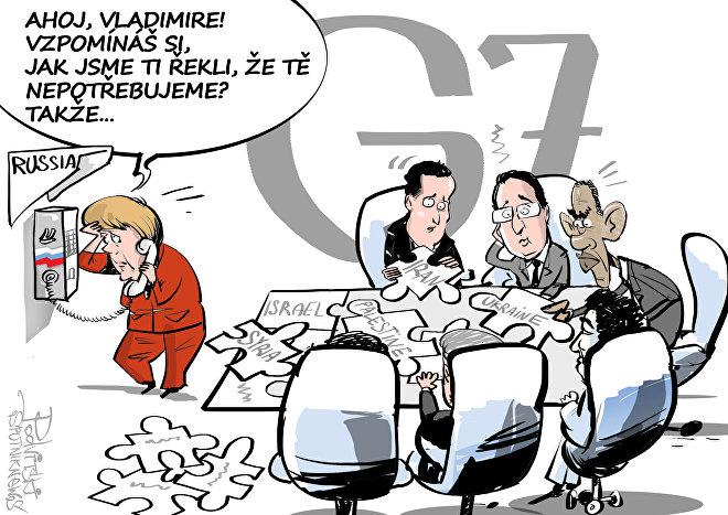 Celosvětové puzzle: G7 potřebuje pomoc