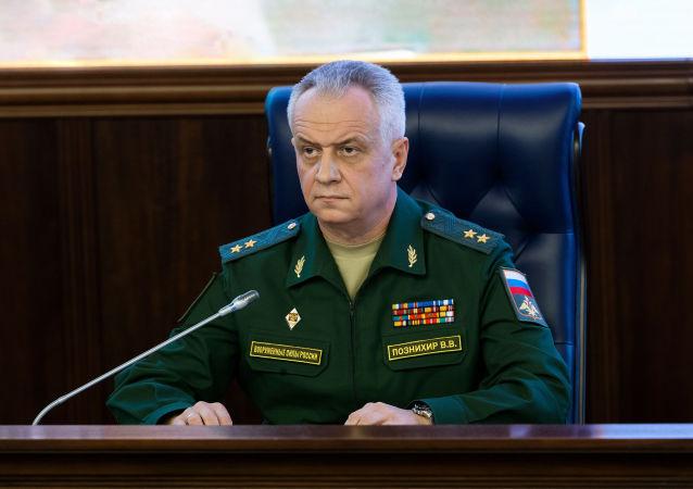 Zástupce náčelníka hlavní operativní správy generálního štábu RF Viktor Poznichir