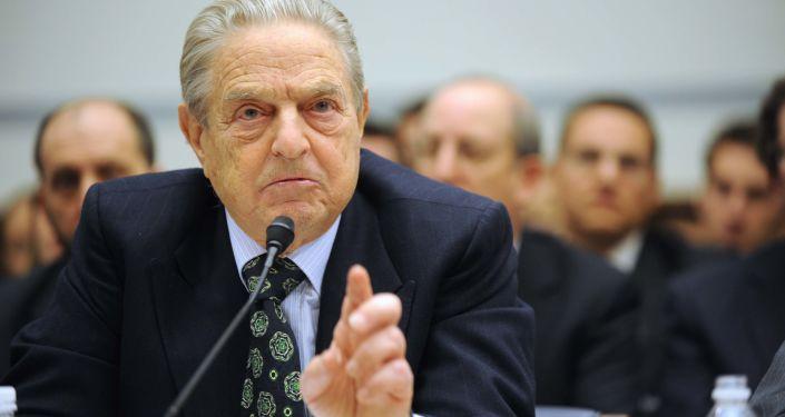 Americký miliardář George Soros