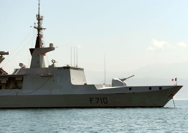Francouzská raketová fregata Lafayette