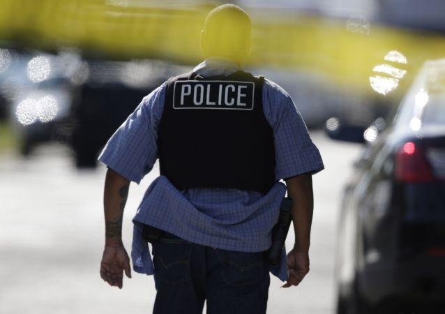 Americký policista (ilustrační foto)
