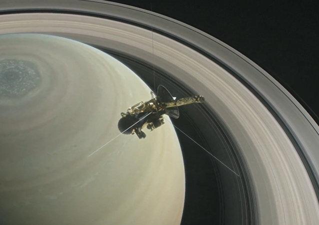 NASA ukázala závěr cesty sondy Cassini