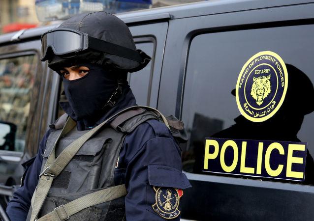Policie v Egyptu