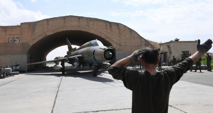 Syrská základna Šajrát