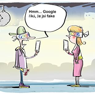 Google. Fakové zprávy