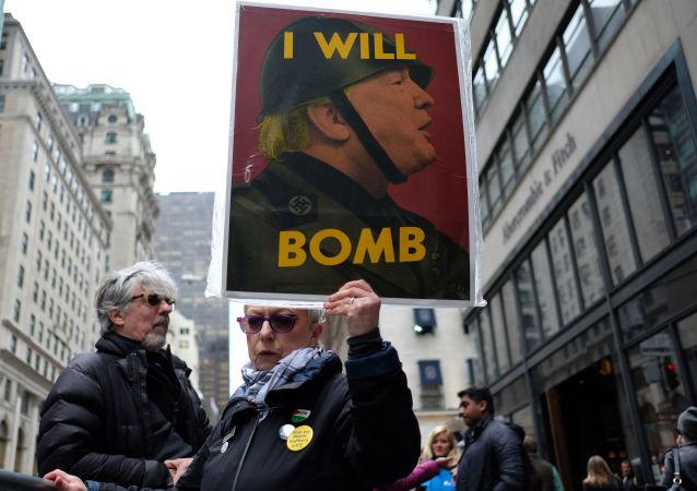 Protestní akce v New Yorku