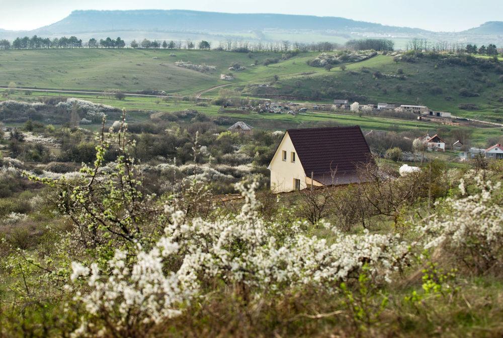 Obec Klinovka na Krymu