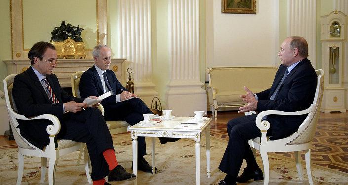 Interview Vladimira Putina pro italský list Il Corriere della Sera