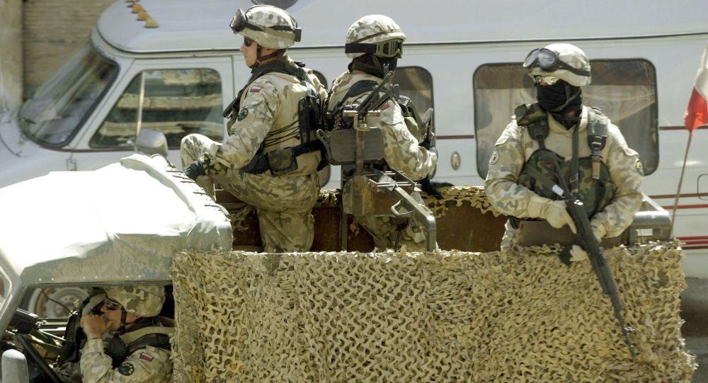 Polští vojáci v Iráku