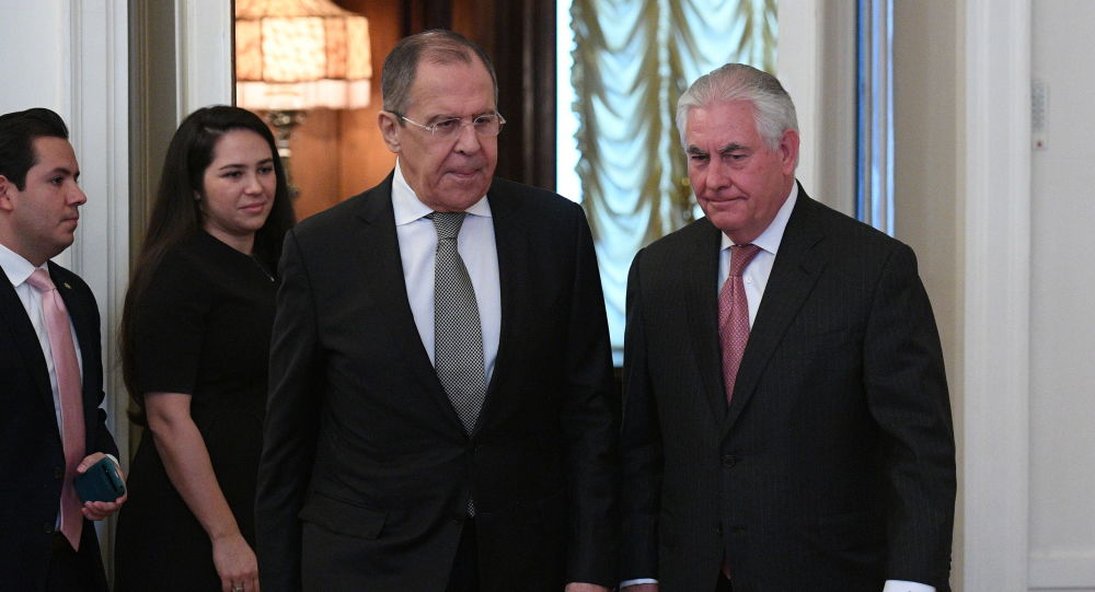Jednání Sergeje Lavrova a Rexe Tillersona