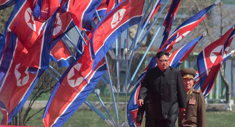 Hlava KLDR Kim Čong-un