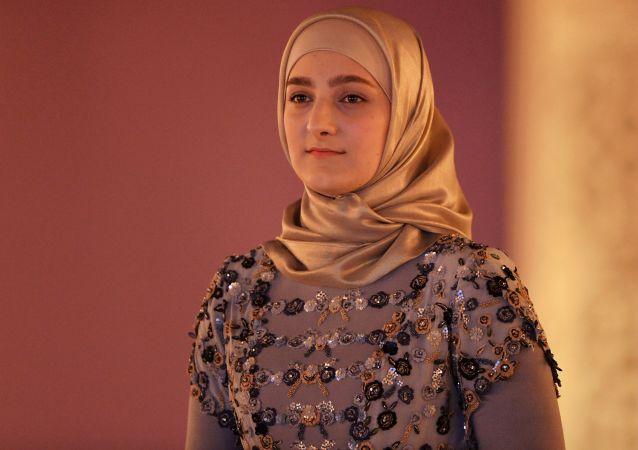 Nejstarší dcera čečenského prezidenta Ramzana Kadyrova, Ajšat.