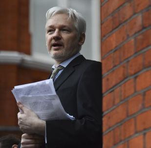 Zakladatel WikiLeaks Julian Assange