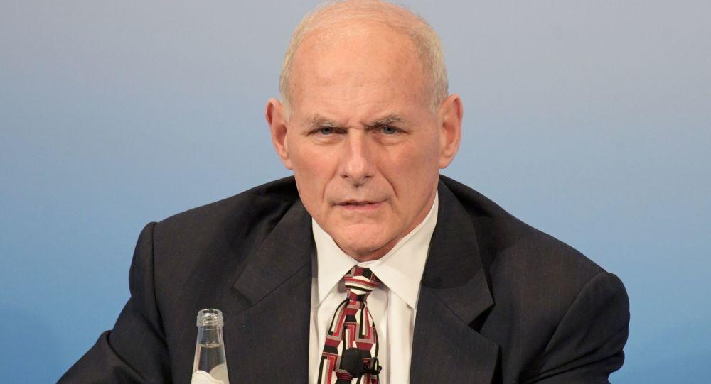 Ministr národní bezpečnosti USA John Kelly