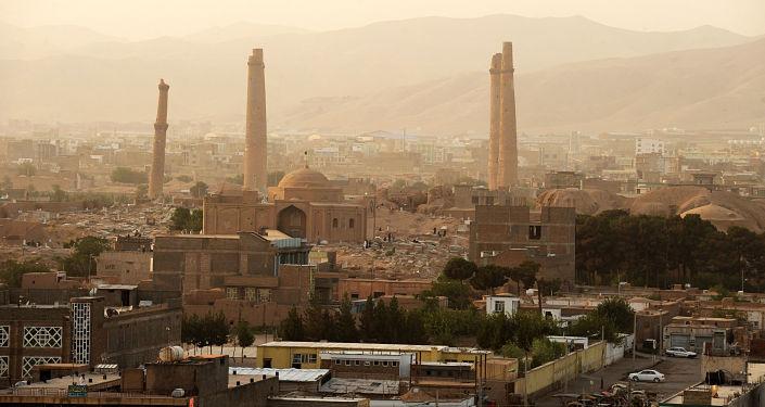 Pohled na město Herát