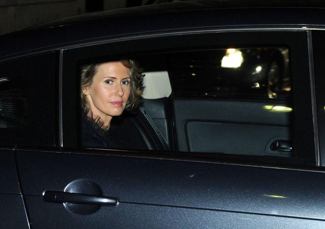 Manželka syrského prezidenta Bašára Asada Asma Asadová