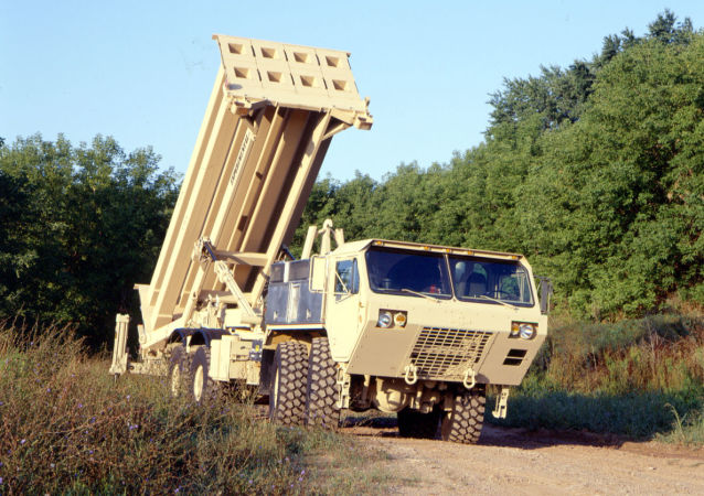 Systém THAAD (Terminal High Altitude Area Defense)