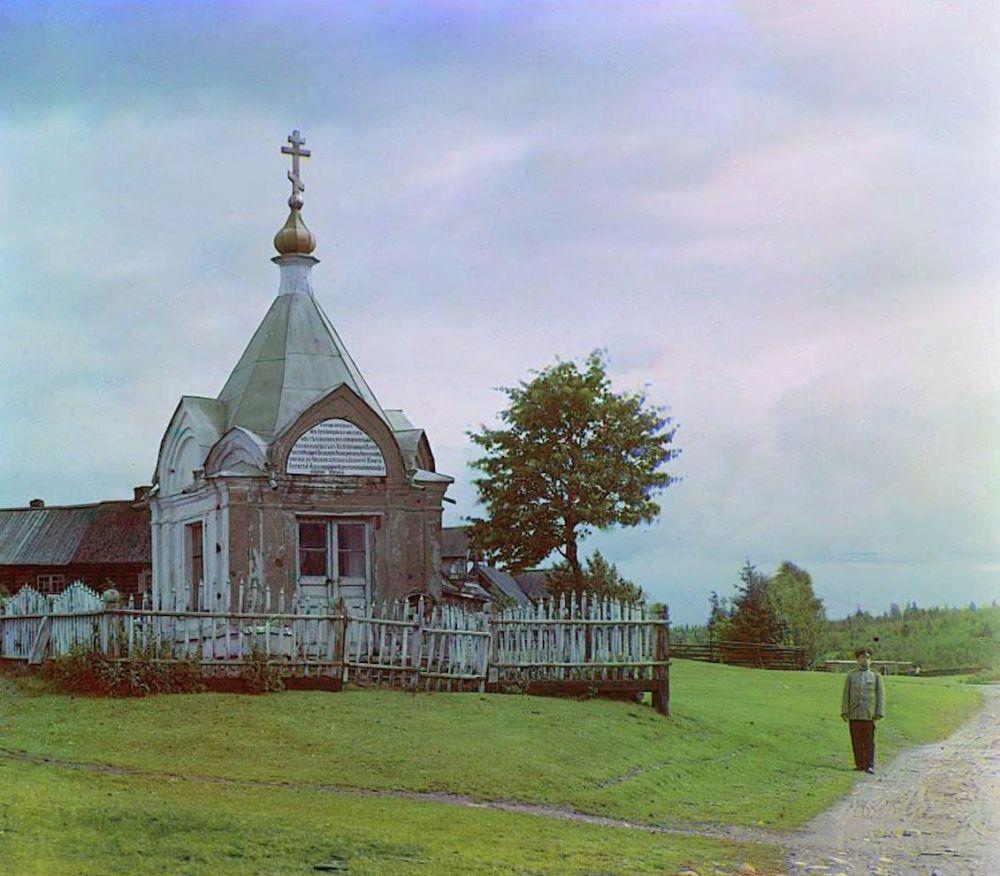 Ruská říše na prvních barevných fotografiích