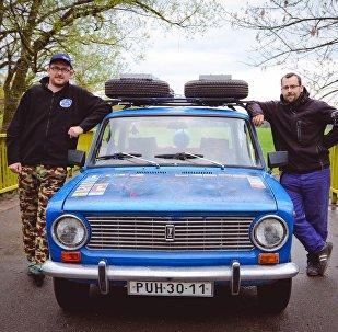 Dva čeští přátelé z Čestic na Rychnovsku – Petr Javůrek a Filip Vogel