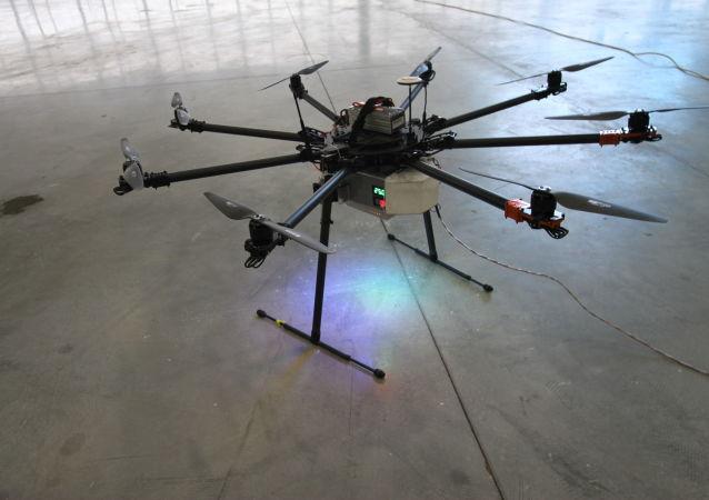 Bezpilotní letecká svázaná platforma