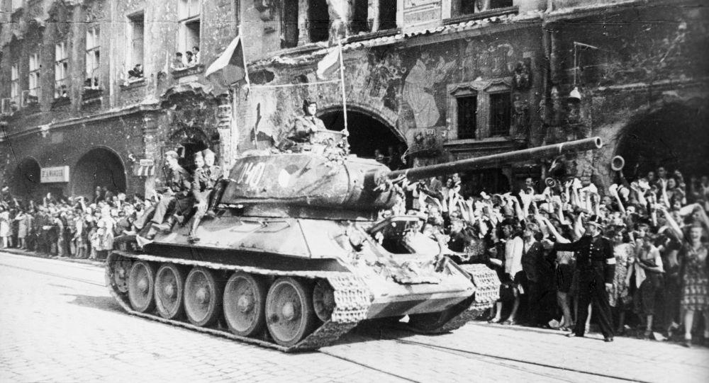 Osvobození Prahy Rudou armádou