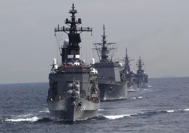 Japonské námořnictvo. Archivní foto
