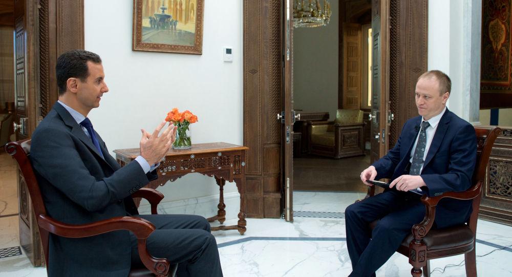 Syrský prezident Bašár Asad