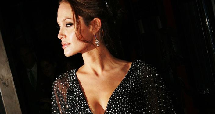 Americká herečka Angelina Jolie