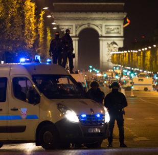 Nedaleko místa střelby v Paříži