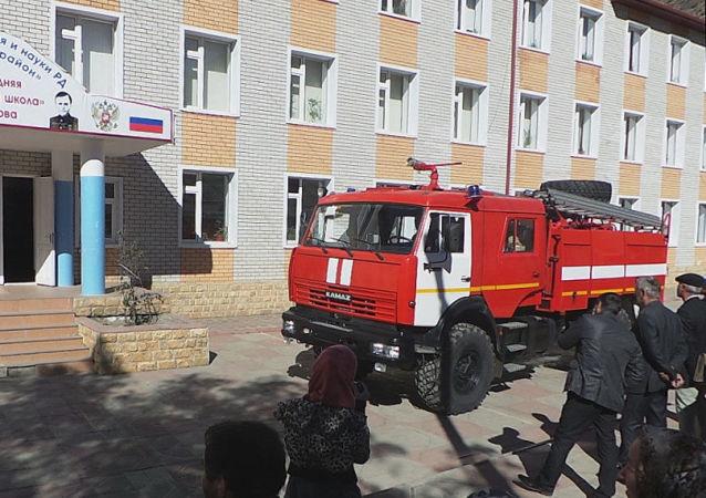 Škola v Dagestánu