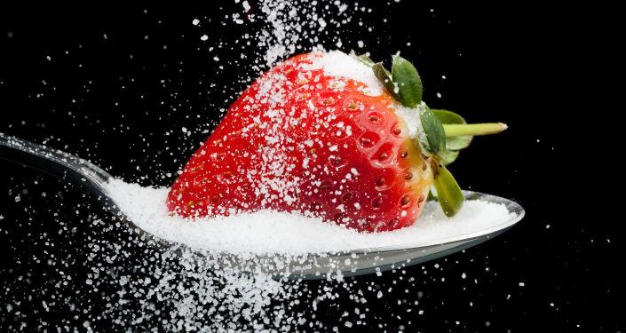 Jahody v cukru