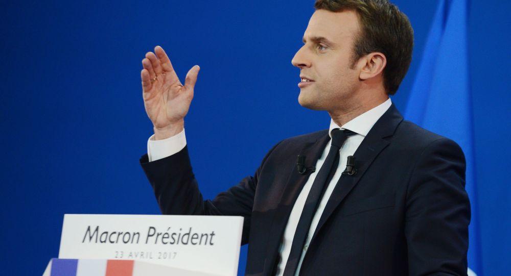 Prezident Francie Emmanuel Macron