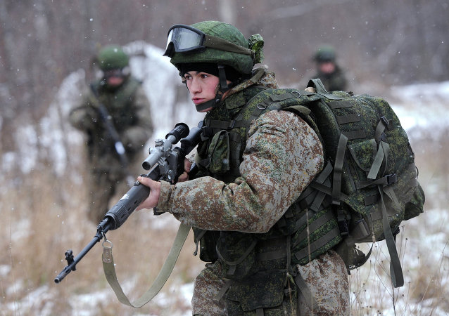 Vojenská výstroj Ratnik. Ilustrační foto
