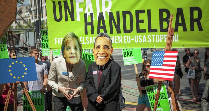 Protstní akce proti TTIP