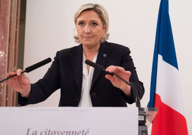 Francouzská politička Marine Le Penová