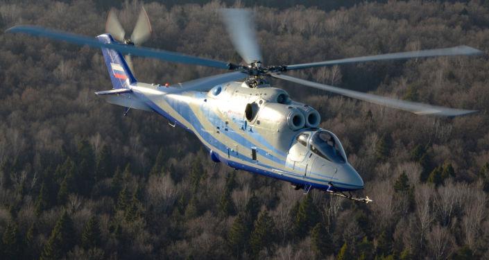 Vrtilník s laboratoří Mi-24K