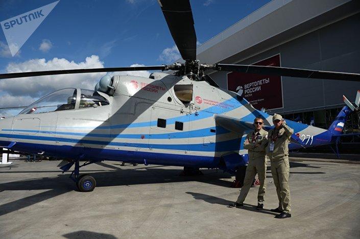 Létající laboratoř na vrtulníku