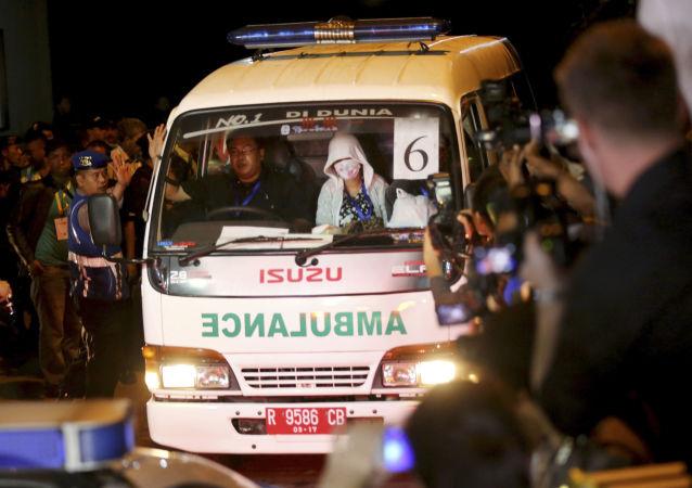 Indonésijská ambulance