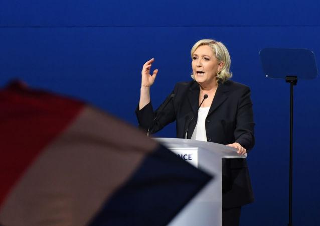 Kandidátka na prezidentku Francie Marine Le Penová