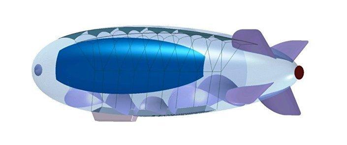 Projekt vzducholodě na slunečních baterií