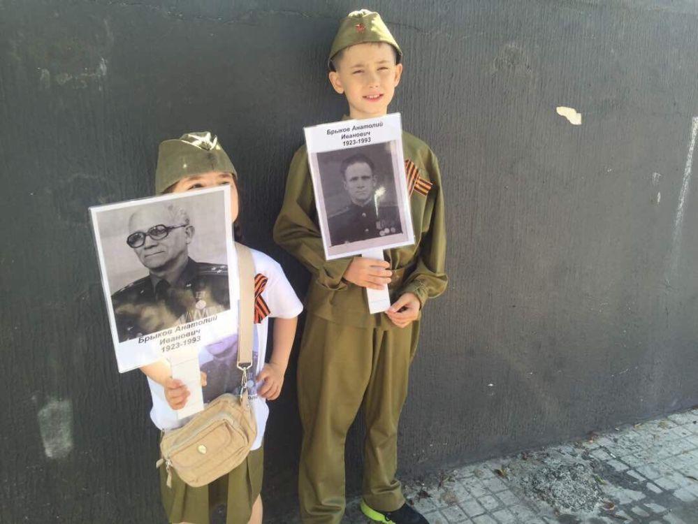 Nesmrtelný pluk v Rusku a v zahraničí