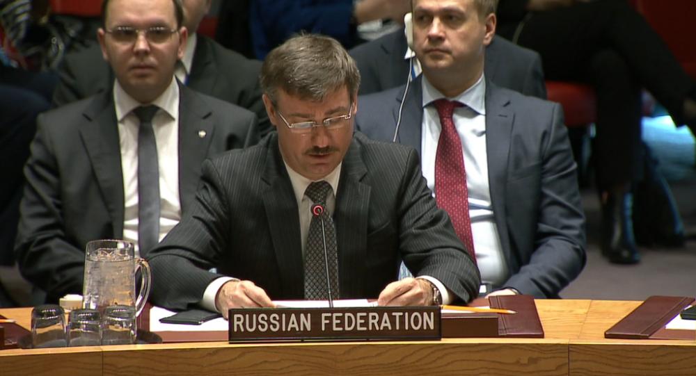 Zástupce Ruska při OSN Petr Iljičev
