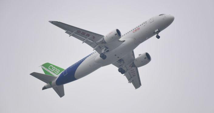 Čínské dopravní letadlo C919