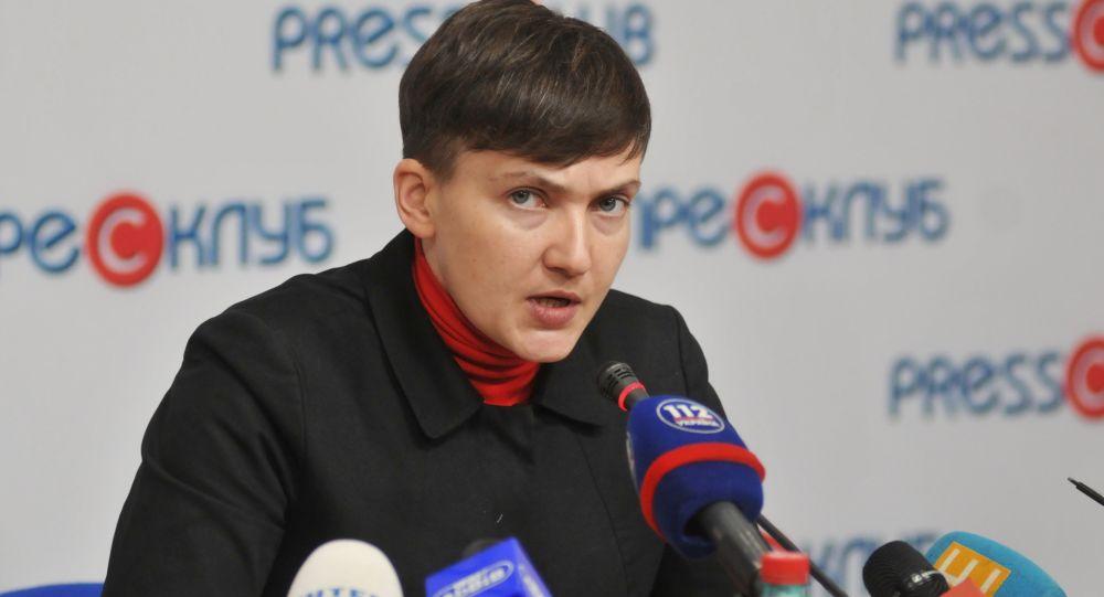 Poslankyně Nejvyšší rady Naděžda Savčenkovová