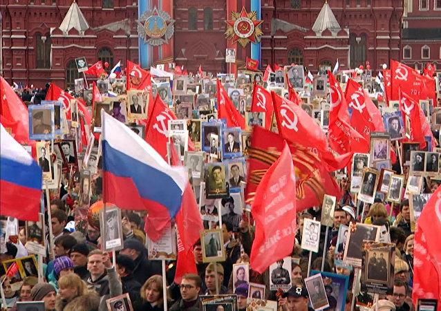 Z Moskvy do Pekingu – jak probíhala akce Nesmrtelný pluk ve světových městech